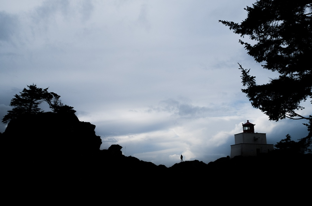 Seeking the Light, Amphitrite Lighthouse, Wild Pacific Trail, Ucluelet, Vancouver Island, British Columbia, Canada