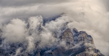 Silken Veil, Rocky Mountains, Banff National Park, Alberta, Canada