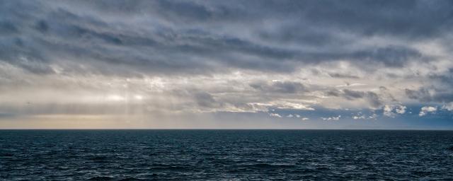 Stormy Horizon, BC Ferries Queen of Cowichan, Horseshoe Bay to Nanaimo, Strait of Georgia, British Columbia, Canada