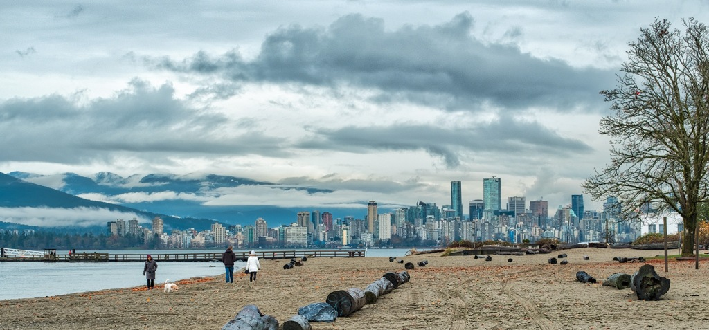 The Cusp of Winter, Jericho Beach, Vancouver, British Columbia, Canada-1
