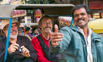 To the Delight of Tourists, Chandni Chowk, Old Delhi, India