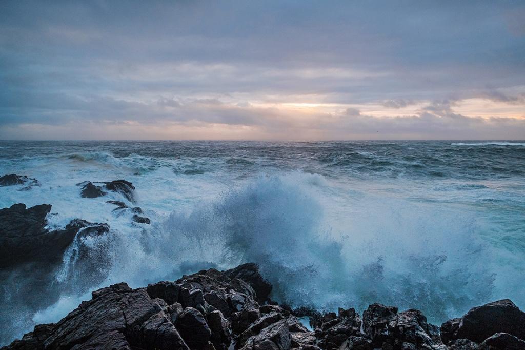 Beyond the Thrashing Shore, Cygnet Cove, Ucluelet, Vancouver Island, British Columbia, Canada