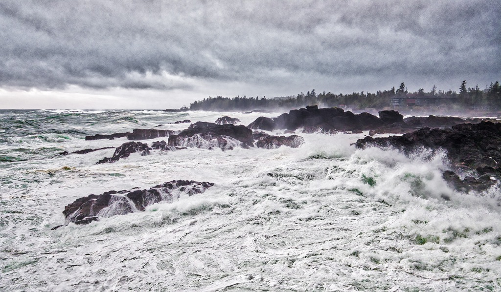 Boiling Churn, Blackrock Resort, Ucluelet, Vancouver Island, British Columbia, Canada