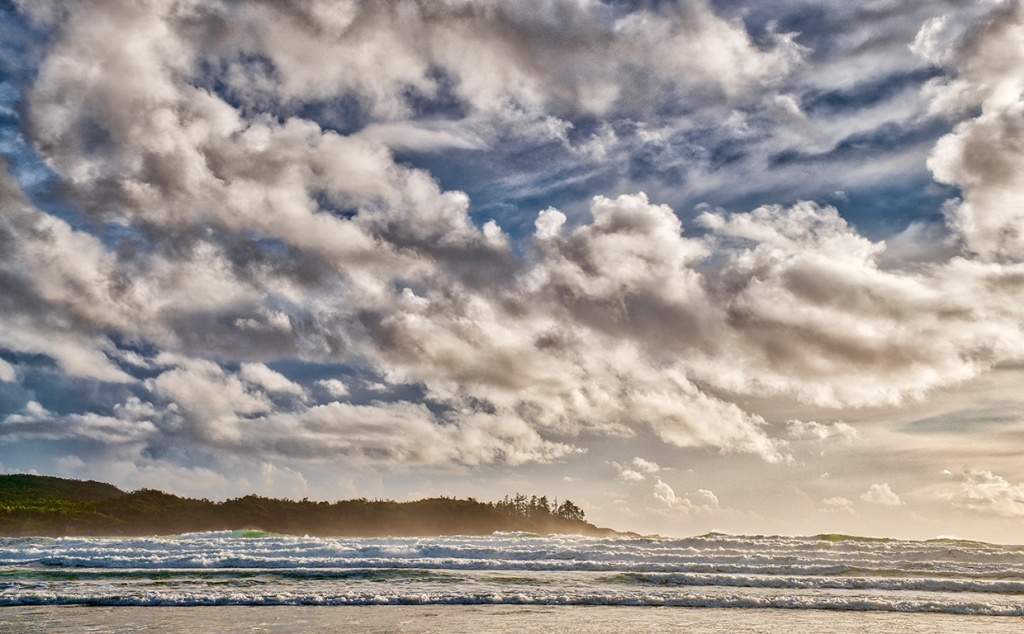 Endless Breakers, Chesterman Beach, Tofino, Vancouver Island, British Columbia, Canada