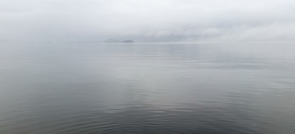 Island in the Mist, Howe Sound, Sea to Sky Highway, British Columbia, Canada