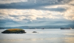 Islets in the Bay, Departure Bay, Nanaimo, Vancouver Island, British Columbia, Canada