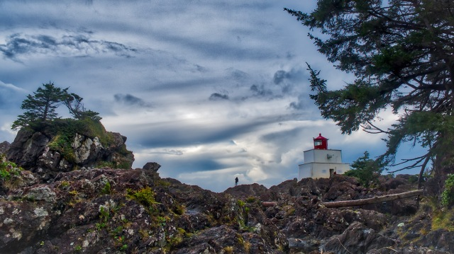 Off Kilter, Amphitrite Lighthouse, Wild Pacific Trail, Ucluelet, Vancouver Island, British Columbia, Canada
