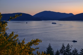 This Land of Oh So Pretty, Bowen Island from Horseshoe Bay, Sea to Sky Highway, Howe Sound, British Columbia, Canada