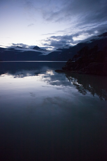 Peaceful Sound, Woodfibre Ferry Terminal, Squamish, Howe Sound, British Columbia, Canada