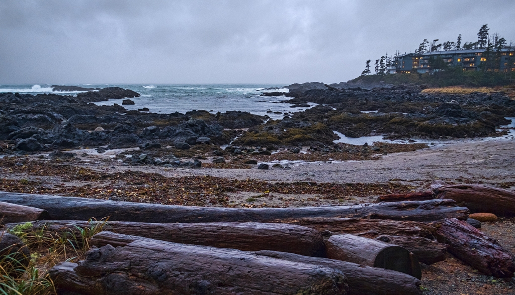 Proximity to Mortality, Blackrock Resort, Ucluelet, Vancouver Island, British Columbia, Canada
