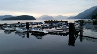 Marina, Sunshine Beach, Howe Sound, British Columbia, Canada