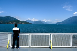 Queen of Surrey, BC Ferries, Howe Sound, British Columbia, Canada