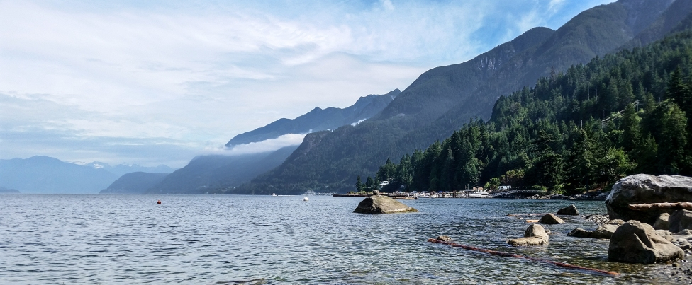 Sunshine Beach, Howe Sound, British Columbia, Canada