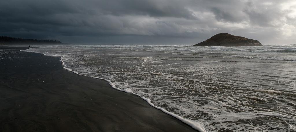 Waves, Long Beach, Pacific Rim National Park, Vancouver Island, British Columbia, Canada II