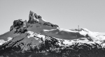 Black and White Tusk, Near Whistler, Sea to Sky Highway, British Columbia, Canada