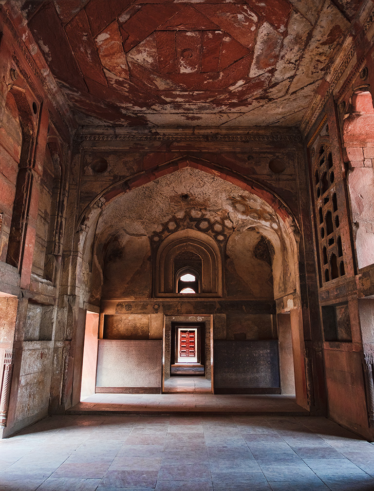 Empty Chamber, Red Fort, Agra, Uttar Pradesh, India