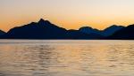 Evening Glow, Britannia Beach, Howe Sound, Sea to Sky Highway, British Columbia, Canada