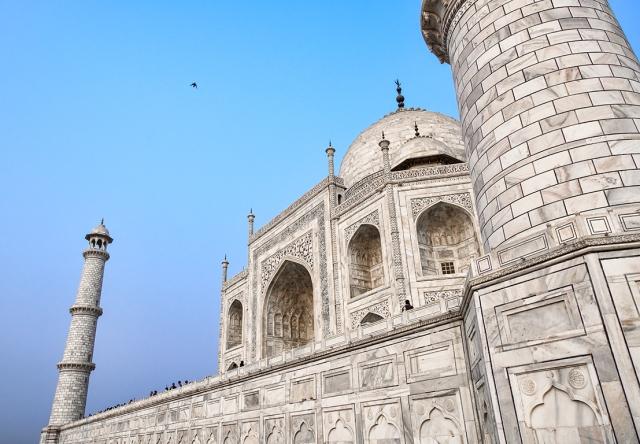 Spire and Dome II, Taj Mahal, Agra, Uttar Pradesh, India