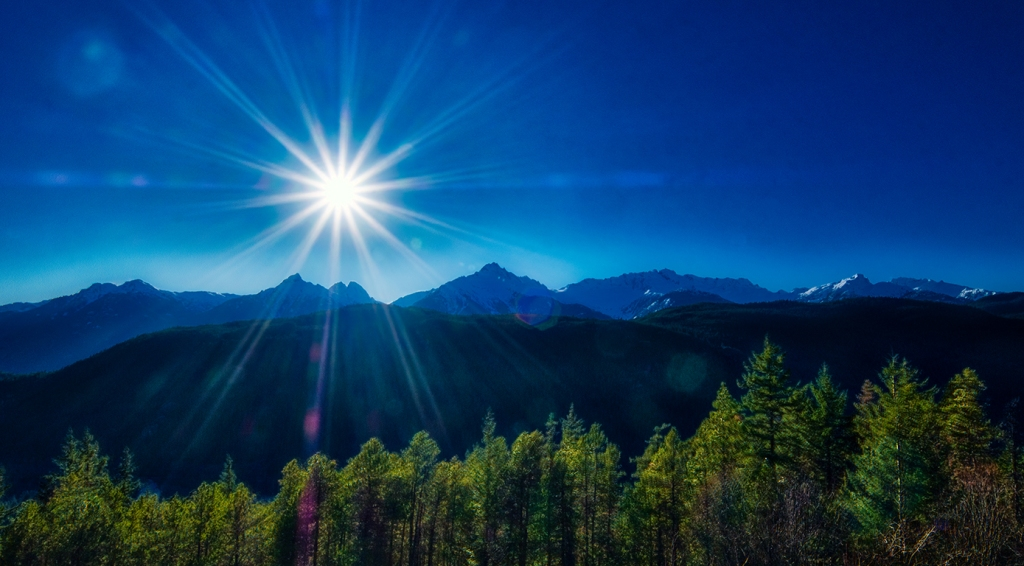 Sunburst, Tantalus Mountain Range, From Tantalus Lookout, Squamish, British Columbia, Canada
