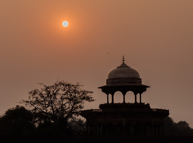 Sunset, Taj Mahal, Agra, Uttar Pradesh, India