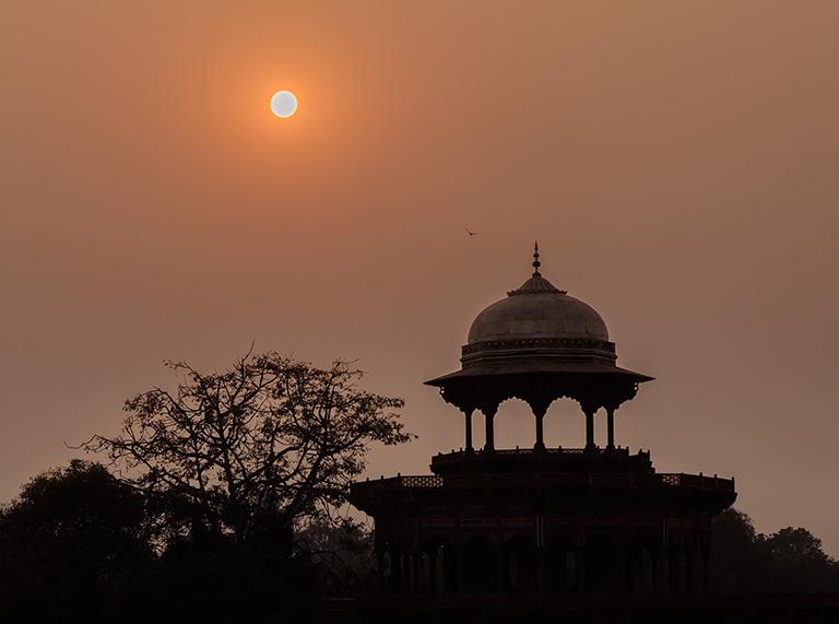 Sunset, Taj Mahal, Agra, Uttar Pradesh, India