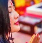 Beautiful Presence, Parmarth Niketan Ashram, Aarti Ceremony, Rishikesh, Uttarakhand, India