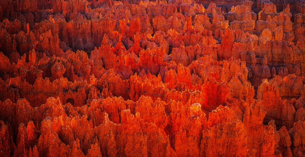 Hoodoo Fire, Bryce Canyon National Park, Utah, United States of America