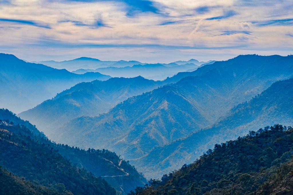 Himalaya Foothills I, Rishikesh, Uttarakhand, India