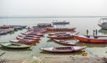 Mother and Daughters II, Ganges River (Ganga), Varanasi, Uttar Pradesh, India