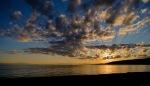 Sunset, Gibsons, Strait of Georgia, Sunshine Coast, British Columbia, Canada