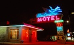 Times I Never Lived, Blue Swallow Motel, Route 66, Tucumcari, New Mexico, United States of America