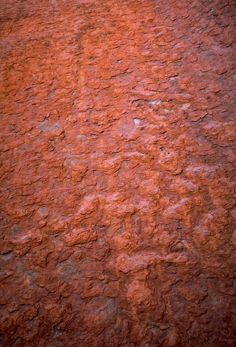 Uluru Texture, Ayers Rock, Nothern Territory, Australia