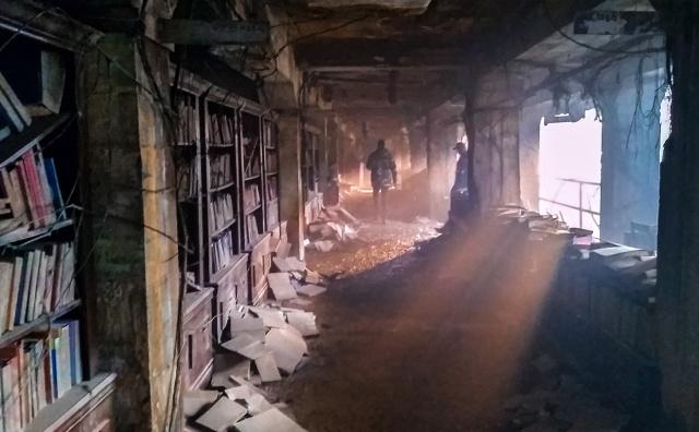 Forgotten Library, Britannia Mining Museum, Britannia Beach, British Columbia, Canada