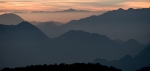 Himalaya Foothills Sunrise VII, Kunjapuri Devi Temple, Rishikesh, Uttarakhand, India