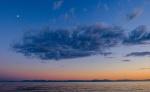 Little Black Cloud, Gibson's, Sunshine Coast, Strait of Georgia, British Columbia, Canada