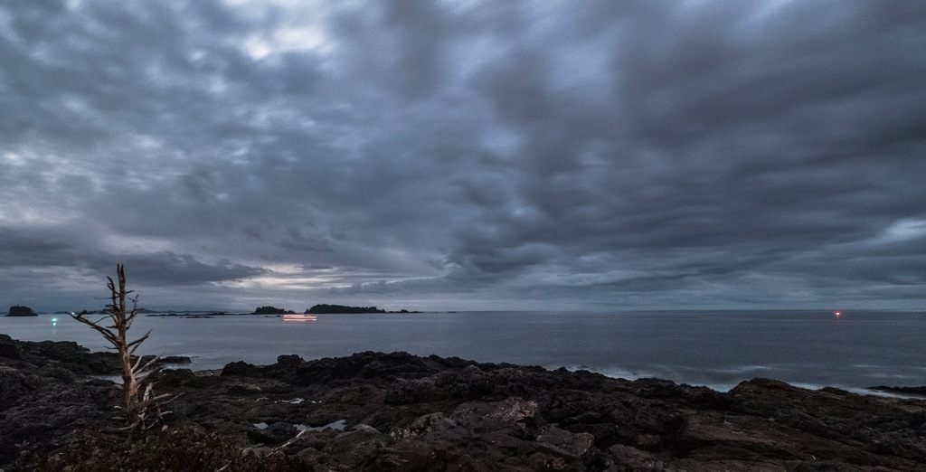 Night Passage, Amphitrite Point, Ucluelet, Vancouver Island, British Columbia, Canada