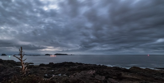Night Passage, Amphitrite Point, Ucluelet, Vancouver Island, British Columbia, Canada