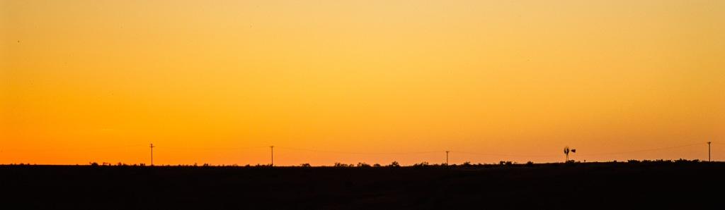 Rangeland Sunset, Alanreed, Texas, United States of America