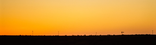 Rangeland Sunset, Alanreed, Texas, United States of America