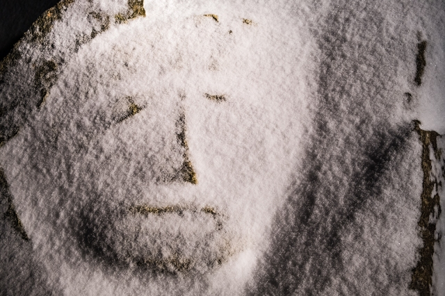 Snow Man, Britannia Beach, British Columbia, Canada
