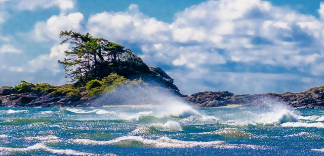 So Goes the Wind, Frank Island, Chesterman Beach, Tofino, Vancouver Island, British Columbia, Canada II
