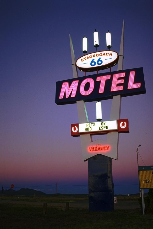 Stagecoach Motel, Route 66, Seligman, Arizona, United States of America