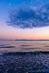 Strait of Georgia Sunset, Gibsons, Sunshine Coast, British Columbia, Canada