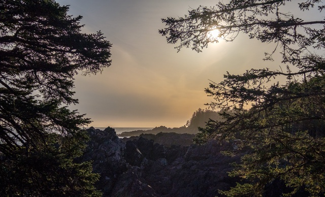 Sunday Sunset, Ucluelet, Vancouver Island, British Columbia, Canada