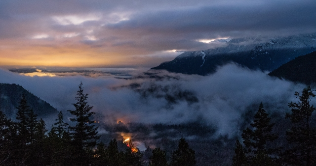 The Glow of Life, Squamish, Sea to Sky Highway, British Columbia, Canada
