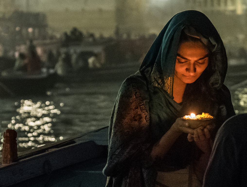 Ganga Angel, Dashashwamedh Ghat, The Ganges River, Varanasi, Uttar Pradesh, India