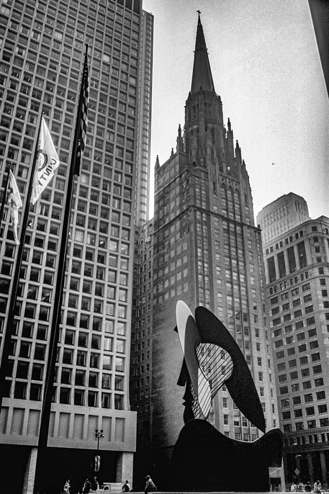 Picasso, Daley Plaza, Chicago, Illinois, United States of America