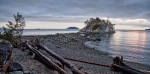 Twice a Day an Island, Whytecliff Park, West Vancouver, British Columbia, Canada