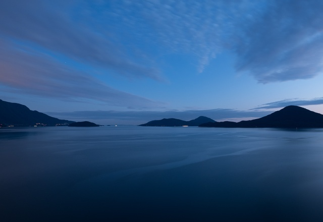 Unlikely Hues, Howe Sound, Sea to Sky Highway, Near Lions Bay, British Columbia, Canada