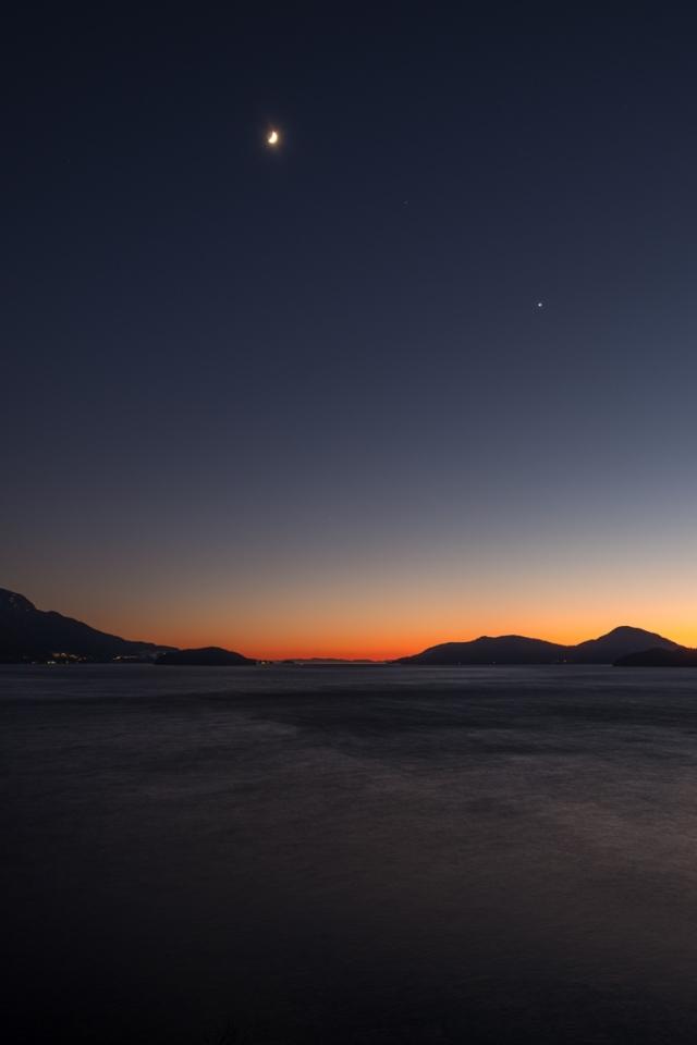 Big, Howe Sound, Sea to Sky Highway, Near Lions Bay, British Columbia, Canada